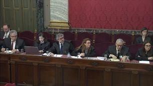 """Qüestions prèvies: el jutge Marchena diu """"no"""" a alliberar els presos i accepta el testimoni de Zoido"""