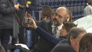 Torra i Torrent censuren l'absència de Junqueras a l'Eurocambra