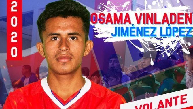 Osama Vinladen, el desconegut futbolista peruà que causa furor pel seu peculiar nom