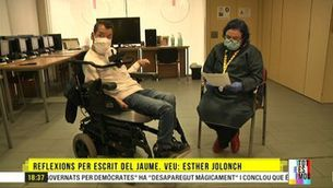 La duresa del confinament per a les persones amb paràlisi cerebral