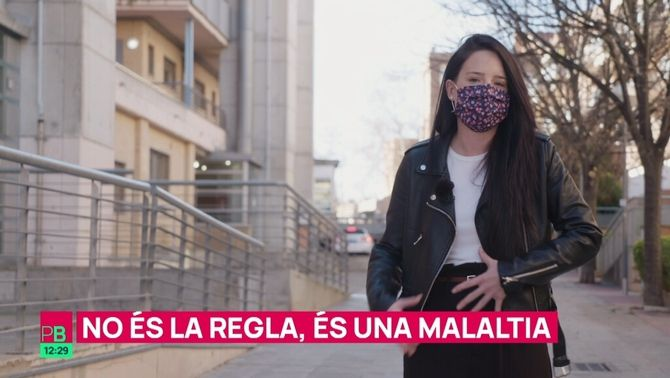 No és la regla; és endometriosi