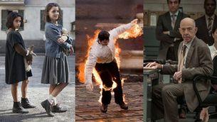 """Imatges de les sèries d'HBO """"La amiga estupenda"""", """"Burning Bush"""" i """"Counterpart"""""""