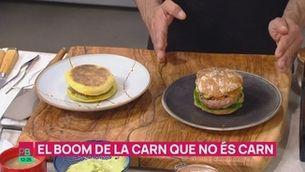 """El boom de la carn que no és carn: per què triomfen les hamburgueses """"vegetals""""?"""