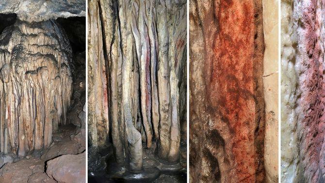 Científics confirmen que les pintures més antigues del món són a Màlaga