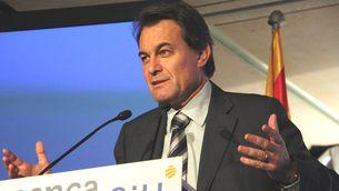 El líder de CiU, Artur Mas. (Foto: ACN)