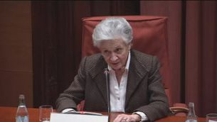 Marta Ferrusola nega que mai demanés cap favor per als seus fills