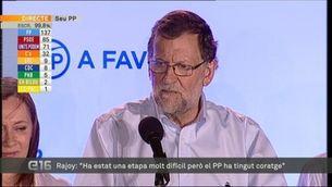 """Rajoy: """"El PP és un instrument útili per a Espanya"""""""