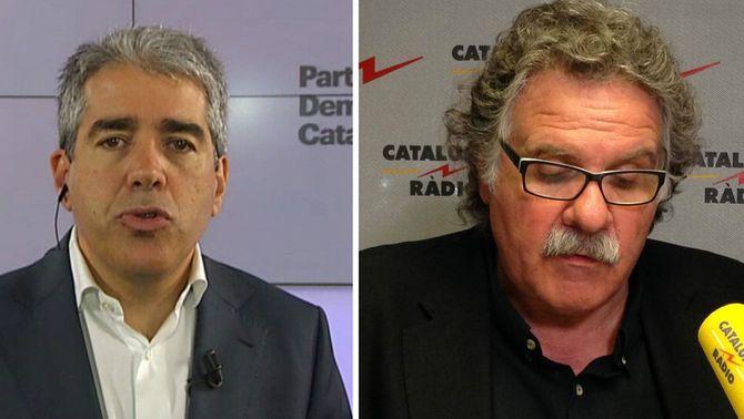"""Homs nega haver negociat amb el PP tenir grup propi a Madrid i Tardà ho titlla d'""""error tàctic"""""""