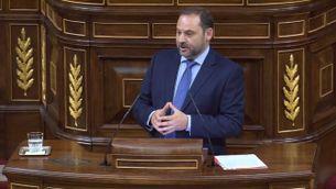 """José Luis Ábalos (PSOE): """"Volem recuperar la dignitat de les institucions, aquesta cambra ha de reaccionar a la sentència de la Gürtel"""""""