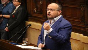 Alejandro Fernández, del PP, al debat de política general