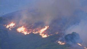 El foc de Gran Canària, fora de control