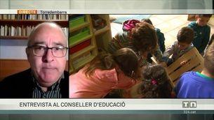 """Josep Bargalló: """"Aquest estiu hi haurà d'haver més casals, a més llocs, més becats i amb més contingut formatiu"""""""