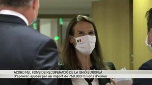 """Acord """"in extremis"""" a la UE per crear un fons de recuperació de 750.000 milions per la crisi de la Covid"""