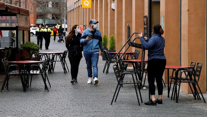 Bars i restaurants podran obrir seguit de les 7.30 a les 17.00 a partir de dilluns