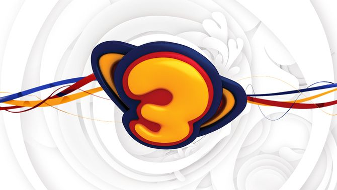 Logo sdel programa Súper3, disseny d'Inocuo
