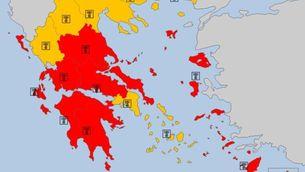 Rècord de calor mai registrada a Grècia en assolir els 46,3 ºC