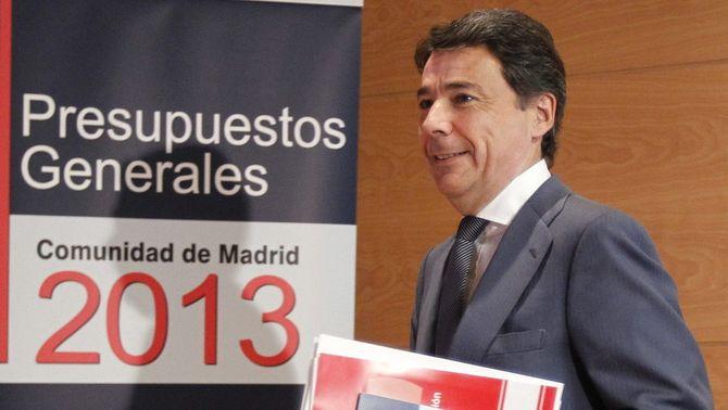 El president de la Comunitat de Madrid, Ignacio González. (Foto: EFE)