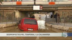 Els efectes del temporal al Maresme