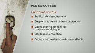 Els eixos del pla de govern