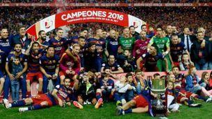 El Barça, campió de Copa