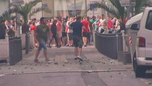 """Greus incidents entre """"hooligans"""" a Marsella"""