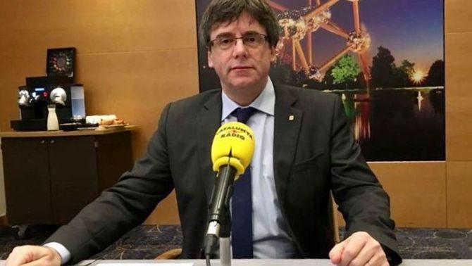 """Puigdemont defensa ser investit i governar a distància amb """"l'ús de noves tecnologies"""""""