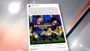 Ressò a les xarxes socials a la mort de Quini