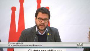 Aragonès respon la denúncia de Jupol per injuriar els policies i guàrdies civils de l'1-O