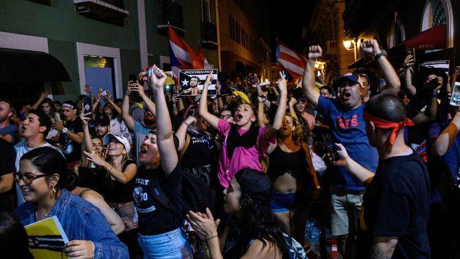 Dimiteix el governador de Puerto Rico, forçat per les protestes al carrer