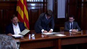 El Tribunal de Comptes reclama 4,1 milions d'euros al govern Puigdemont per l'1-O