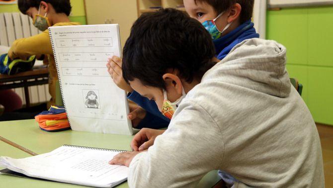 La llei Celaá protegeix la immersió lingüística i aposta per l'escola pública