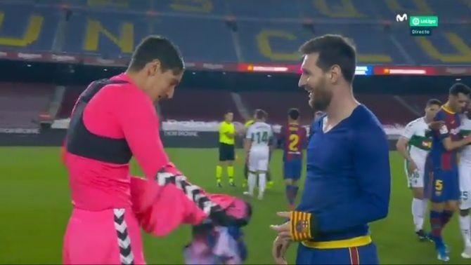 El detall de Leo Messi que ha agafat per sorpresa Edgar Badia