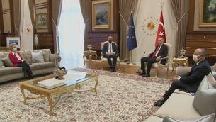 El vídeo del sofagate entre Erdogan i la presidenta de la Comissió Europea