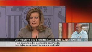 Joan Carles Gallego, secretari general de Comissions Obreres