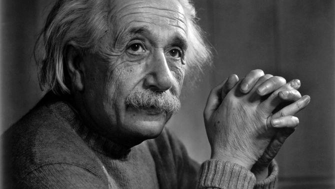 El científic Albert Einstein