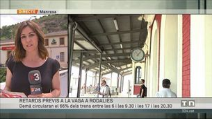 """Rodalies també ha patit avui força retards per una """"vaga encoberta"""", segons Renfe"""