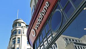 Botiga de Vodafone a Londres