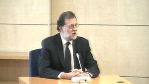 """Rajoy: """"Mai vaig tenir coneixement de cap finançament il·legal"""""""