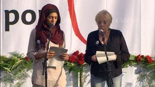 El discurs de Hatibi i Sardà a la manifestació #NoTincPor