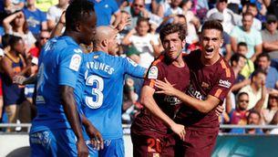 El Barça remunta i suma la quarta victòria en quatre jornades