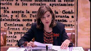 La secretària d'estat d'Interior admet que hi va haver un seguiment a Puigdemont