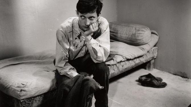 """Escena d'""""Un condenado a muerte se ha escapado"""", de Robert Bresson"""