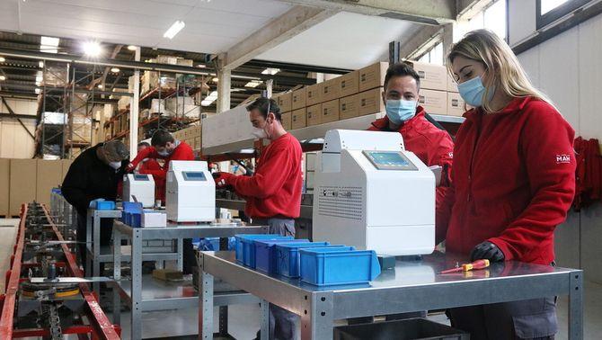 La producció del dispositiu de ventilació Respira abastirà tots els hospitals catalans que vulguin sumar-se al projecte