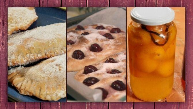 Receptes amb prunes, cireres i préssecs