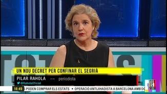 """Imatge de:Pilar Rahola: """"A banda de la investigació a Suïssa, la querella d'Òmnium en el cas Joan Carles és el més important que ha passat, li pot portar maldecaps"""""""
