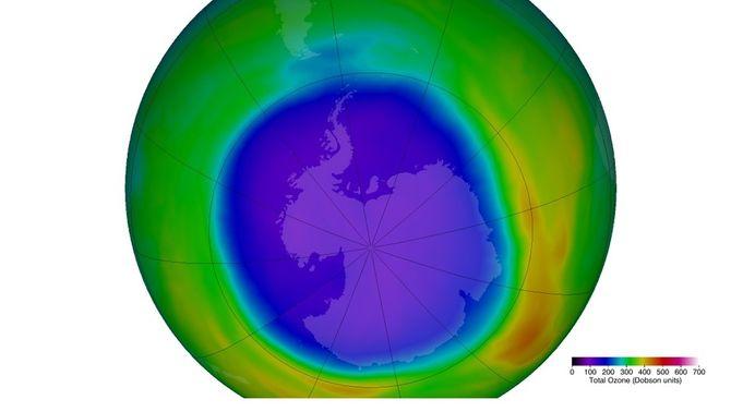 El forat de la capa d'ozó s'engrandeix i gairebé es triplica en un any