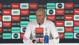Zidane respecta l'Atalanta, però prefereix pensar en l'Athletic