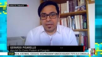 """Imatge de:Gerardo Pisarello: """"Necessitem fets concrets. La reforma del delicte de sedició s'hauria d'aprovar amb urgència"""""""