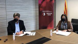 Acord de col·laboració entre la CCMA i la Fundació Impulsa Talentum XXI per a la difusió de la cultura de l'emprenedoria, el talent i la innovació