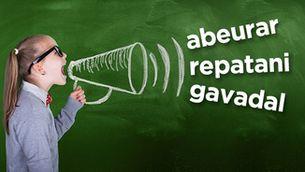 """Abeurar"", ""repatani"" i ""gavadal"", paraules salvades!"